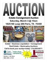 Estate Consignment Auction