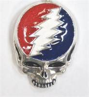 """Large """"Steal Your Face"""" Owsley Stanley Pendant"""