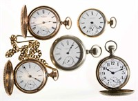 Over 300 antique pocket watches