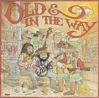 """Old and In the Way"" Signed Album Cover"