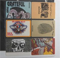Collection of 957 Backstage Passes