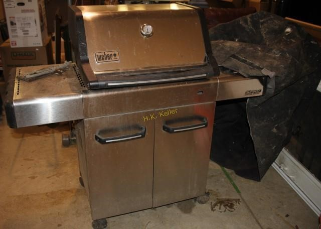 Weber Spirit Gas Grill with Cover | H  K  Keller