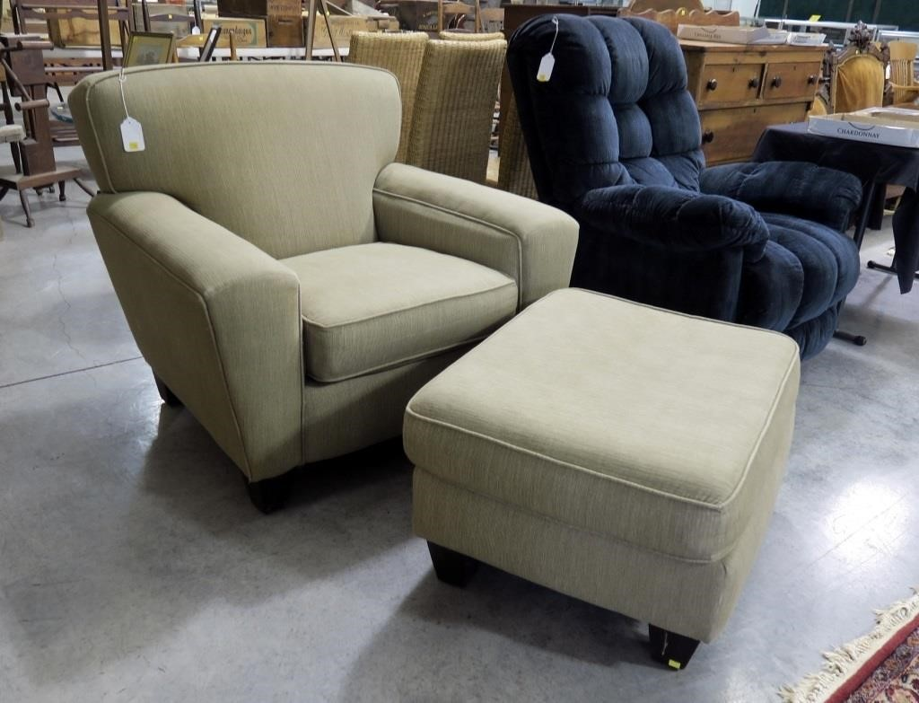 Prime Rowe Furniture Oversized Chair And Ottoman Hessney Caraccident5 Cool Chair Designs And Ideas Caraccident5Info