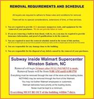 18014 - SUBWAY inside Walmart Supercenter