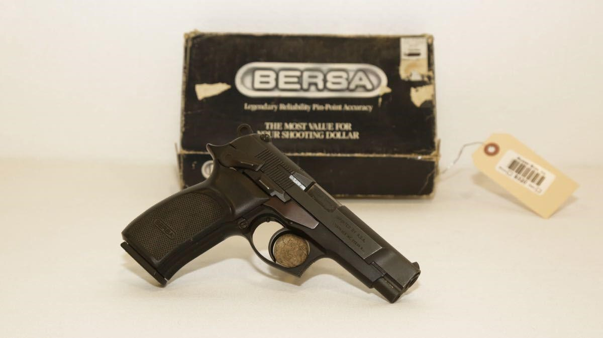Bersa Pistol Thunder 9mm | Musser Bros  Inc