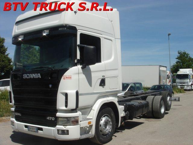 Scania R124L470 Usagé