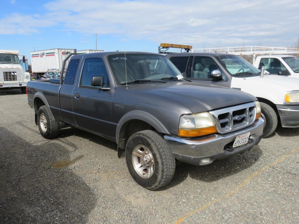 2000 Ford Ranger Xlt 4x4 Bidcal Inc Live Online Auctions