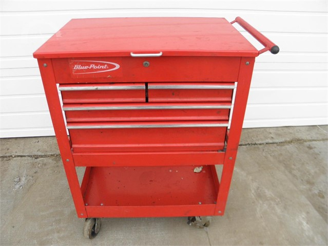 Blue Point Tool Cart >> Auctiontime Com Blue Point 4 Drawer Tool Cart Online Auctions