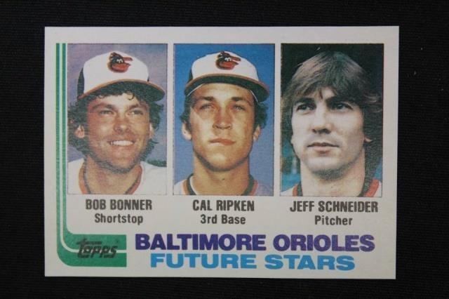 Blank Back 1982 Topps 21 Cal Ripken Jr Rookie Antique 2