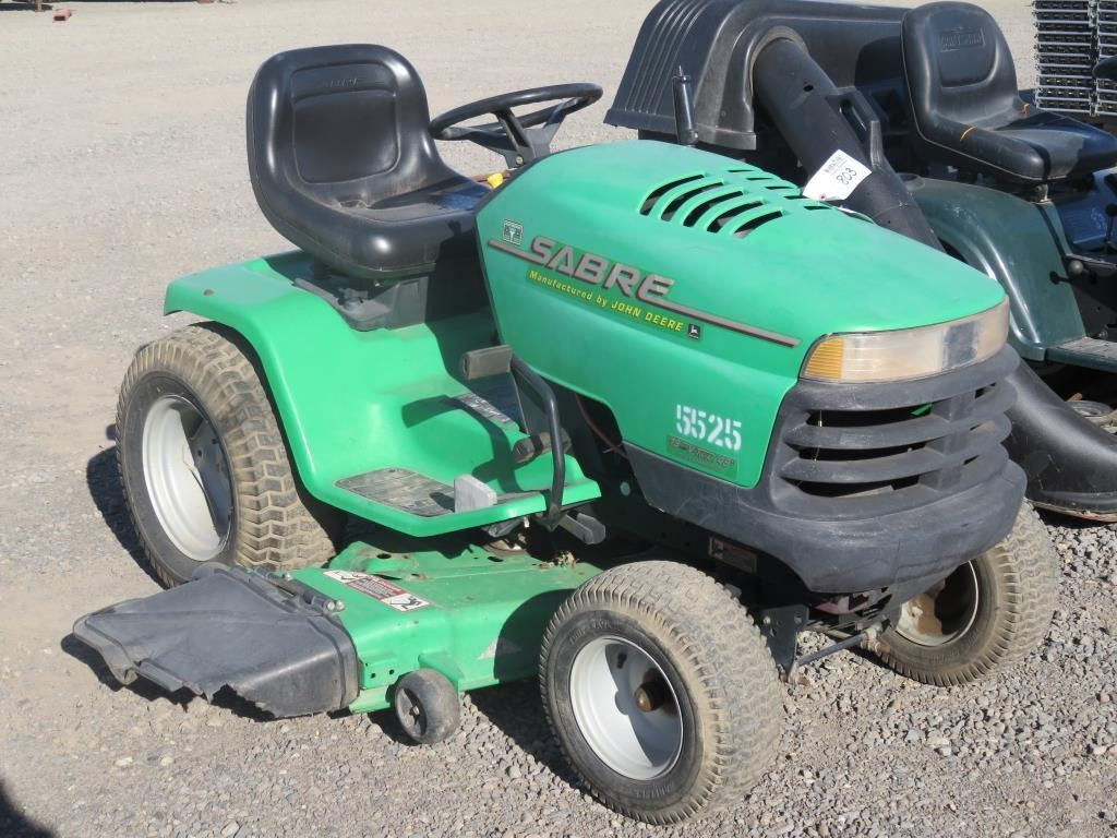 John Deere Sabre >> John Deere Sabre 48 Lawn Mower Bidcal Inc Live Online
