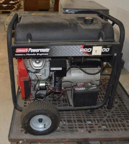 COLEMAN POWERMATE GENERATOR, ELECTRIC | Chuck Cryderman and
