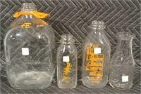 Online Only approx 300+/- Milk Bottles Feb. 21 @ 6pm CST