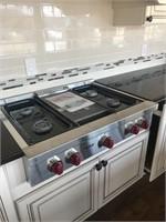 Designer Cabinets & High End Appliances