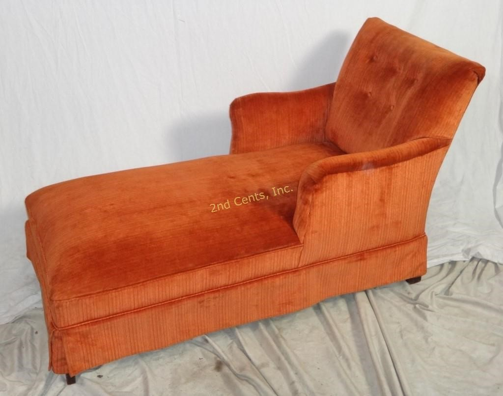 Prime Mid Century Burnt Orange Fainting Couch Sofa 2Nd Cents Inc Forskolin Free Trial Chair Design Images Forskolin Free Trialorg