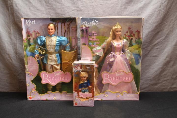 Barbie Rapunzel 2002 Rapunzel Ken Kelly Lincoln Crum Auctions