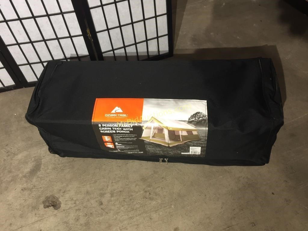 Ozark Trail 8-Person Family Cabin Tent with Screen | Mr Bid Auctions LLC