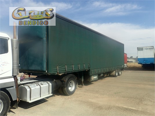 2005 Freightmaster Curtain Sider Trailer Grays Bendigo - Trailers for Sale