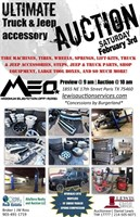 Maximum Elevation Off-Road Inventory Clearance Auction