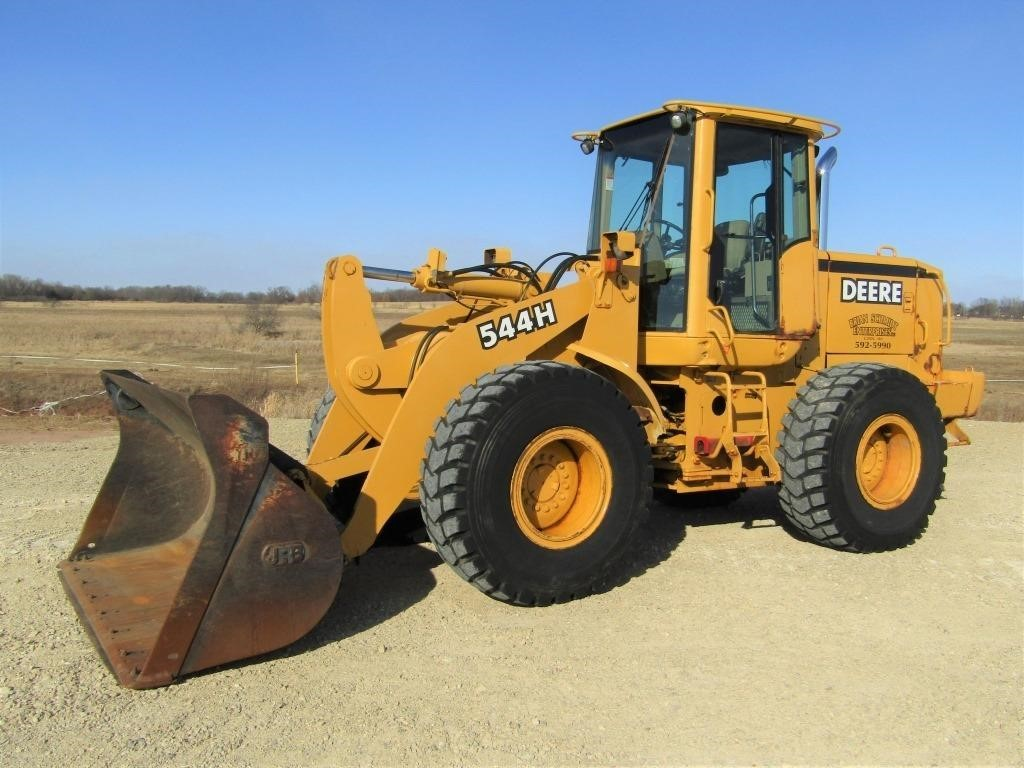 lot # : 2846 - john deere 544h wheel loader