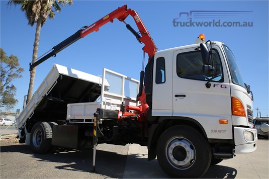 2008 Hino 500 Series 1527 FG - Truckworld.com.au - Trucks for Sale