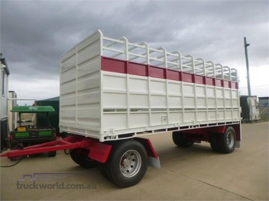 2013 Wese Stock Crate Trailer Trailers for Sale