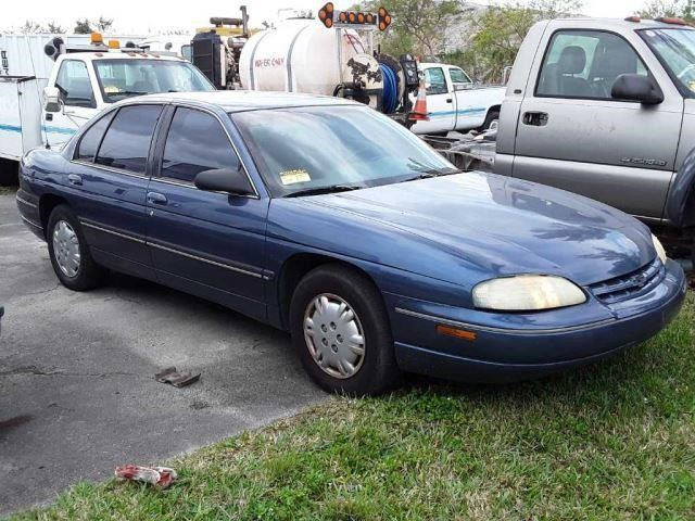 Lot 116 1997 Chevrolet Lumina Police Undercover Unit