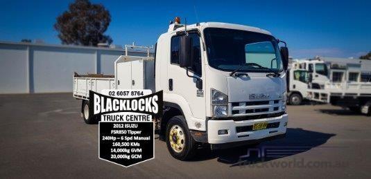 2012 Isuzu FSR 850 Long - Trucks for Sale