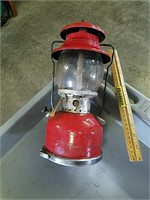 Coleman Kerosene Lantern, Glass is Broken | Bradeen Real Estate
