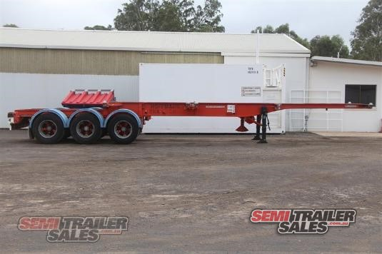 2004 Krueger Retractable Skel Trailer Semi Trailer Sales - Trailers for Sale