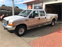 2001 Ford F350 Crew Cab Online Only Auction