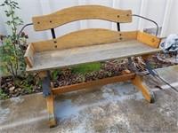 Antique Stage Coach Seat