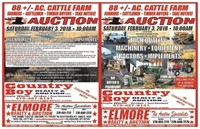 THOMPSON SALE-88 AC.-TIMBER-FARM EQUIPMENT-MACHINERY-DODGE