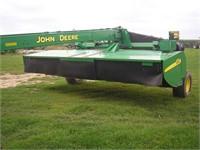 JOHN DEERE 956 DISCBINE (1-owner) | Hager Auction Service