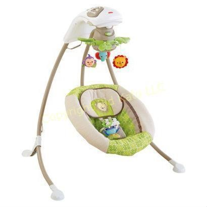 Fisher Price Rain Forest Deluxe Cradle N Swing Bid Kato