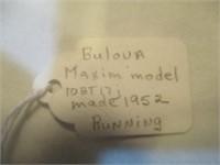 Bulova Maxim Model 10BT17j (Made in 1952)