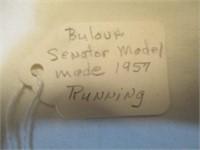 Bulova Senator Model Made In 1957