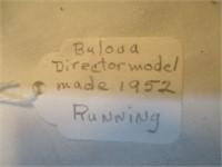 Bulova Director Model Made 1952