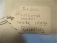 Bulova Miniteman Model Made 1957