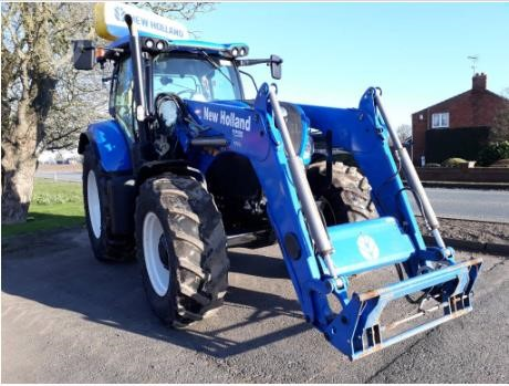 Used 2017 NEW HOLLAND T7 210 For Sale In Boston, England United