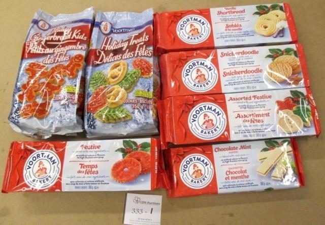 7 Mixed Packs Voortman Cookies Hibid Auctions Ontario