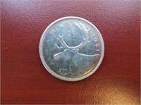 Sterling Silver Canadian Silver Coin(approx.WT 5.8