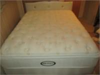 Queen Beautyrest Pillowtop Mattress Set, Headboard