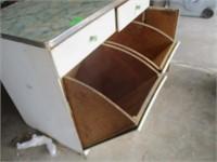 Vintage Flour Storage Bin / Cabinet