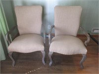 2) Arm Chairs