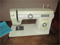 Sewing Machine Cabinet With New Home Sewing