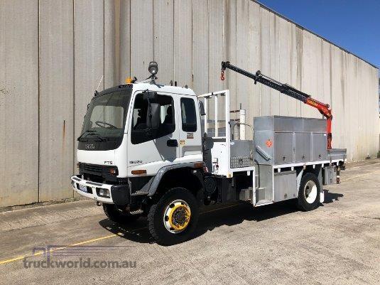 2005 Isuzu FTS 750 4x4 - Trucks for Sale