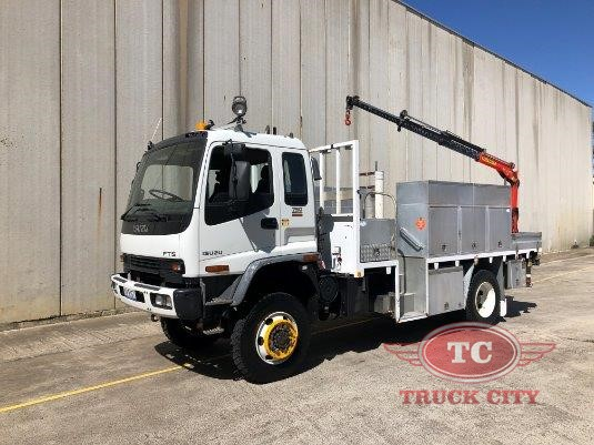 2005 Isuzu FTS 750 4x4 Truck City - Trucks for Sale