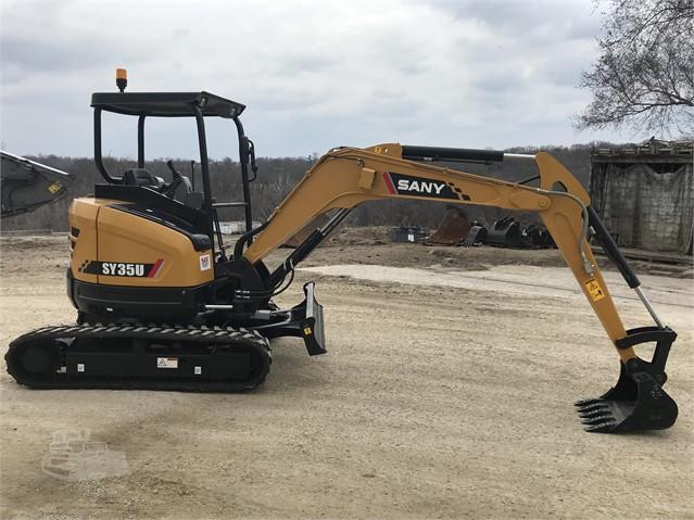 2019 SANY SY35U For Sale In Kansas City, Kansas | MachineryTrader com