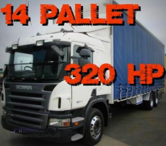 2011 Scania P320 - Trucks for Sale