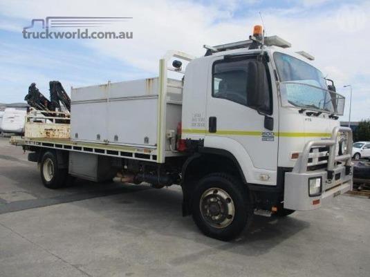 2009 Isuzu FTS 800 4x4 Trucks for Sale